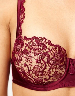 Image 3 ofPanache Masquerade Persia Lace Balconette Bra