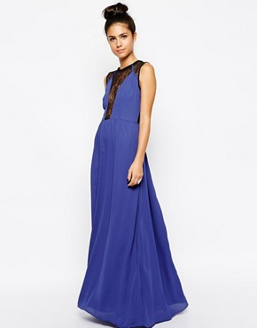 WYLDR Desire Maxi Dress With Lace Insert