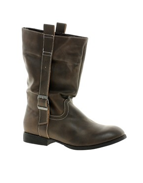 Image 1 ofBlink Minou Strap Buckle Boots