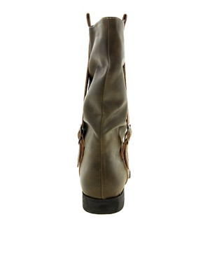 Image 2 ofBlink Minou Strap Buckle Boots