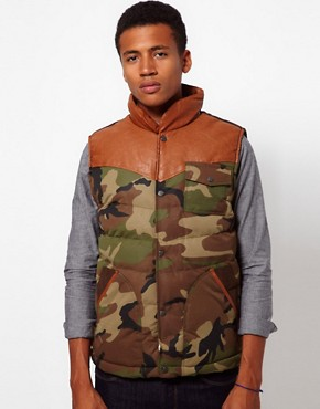 Image 1 ofBellfield Camo Gilet