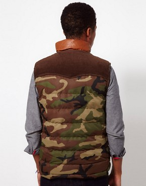 Image 2 ofBellfield Camo Gilet