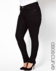 ASOS CURVE Exclusive Ridley Super Soft Skinny Jeans