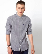 Original Penguin Shirt with Gingham Check