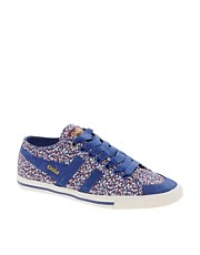 Gola Liberty Quota Pepper Blue Trainers