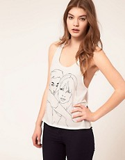 By Zoe Scribble Tank Top