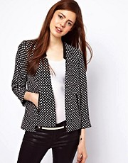 ASOS Blazer in Spot Print
