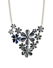 Pilgrim Statement Floral Necklace