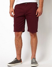 Addict  Klassische Chino-Shorts aus Twill