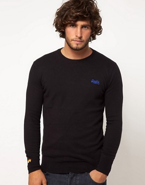 Image 1 ofSuperdry Orange Label Jumper