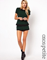 ASOS PETITE Exclusive Shorts With Contrast Hem