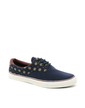 Image 1 ofRiver Island Ditsy Plimsolls
