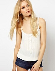 River Island Victoriana Cami Top