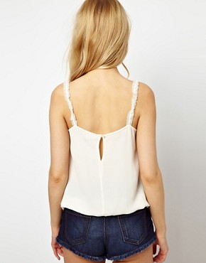 Image 2 ofRiver Island Victoriana Cami Top