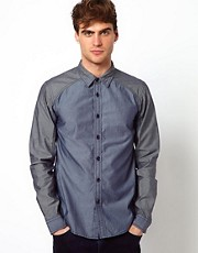 Izzue Shirt Chambray Mix