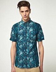 B-Store Liberty Collab Button Down Floral Shirt