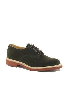 Image 1 ofTrickers Daniel Suede Derby Shoes