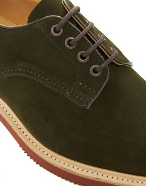 Image 2 ofTrickers Daniel Suede Derby Shoes