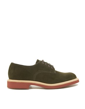 Image 4 ofTrickers Daniel Suede Derby Shoes