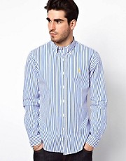Polo Ralph Lauren Slim Shirt with Bengal Stripe