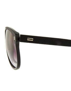 Image 4 ofJeepers Peepers Aaron Black Sunglasses