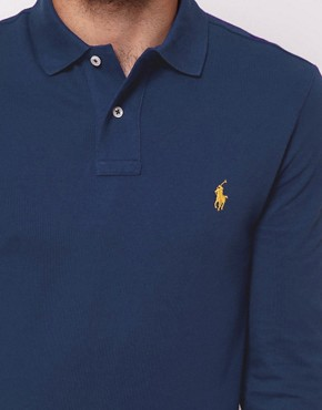 Image 3 ofPolo Ralph Lauren Polo Shirt with Long Sleeves