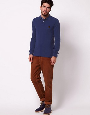 Image 4 ofPolo Ralph Lauren Polo Shirt with Long Sleeves