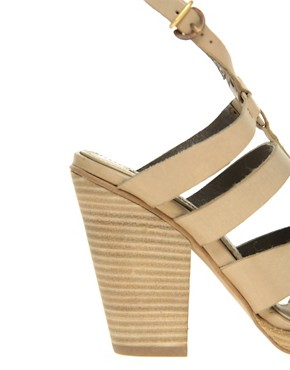 Image 3 ofMiista Pris Strap Chunky Heel Sandal