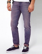 ASOS Slim Jean With Acid Wash