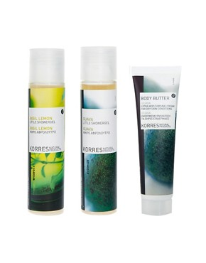 Image 2 ofKorres Limited Edition Fresh Blend Bodycare Set