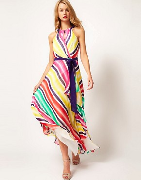 Image 4 ofCoast Stripe Maxi Dress