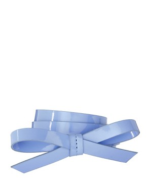 Image 1 ofASOS Bow Skinny Waist Belt