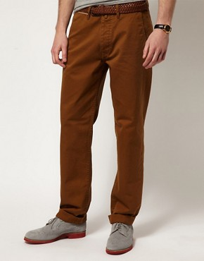 Image 1 of YMC Chinos Cotton Twill Selvedge Classic