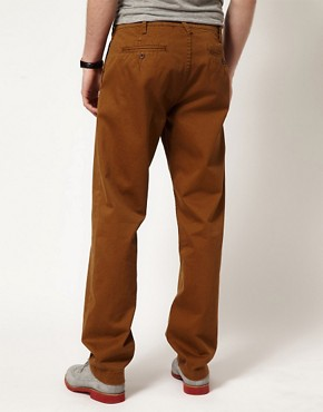 Image 2 of YMC Chinos Cotton Twill Selvedge Classic