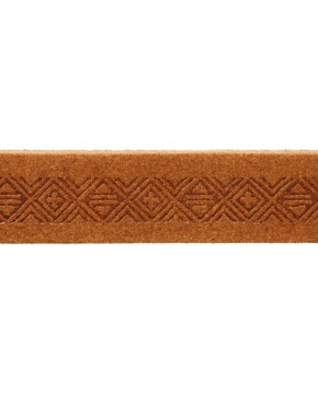 Image 4 ofASOS Leather Aztec Emboss Chino Belt