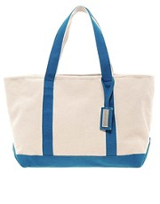 French Connection Canvas Beach Bag
