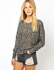 ASOS Jumper With Cross Back In Fine Knit