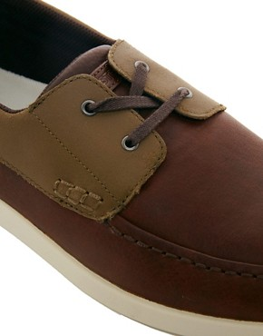 Image 2 ofLacoste Arverne Boat Shoes