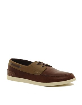 Image 1 ofLacoste Arverne Boat Shoes