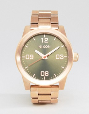 Nixon Rose Gold G.I.SS Bracelet Watch 799940