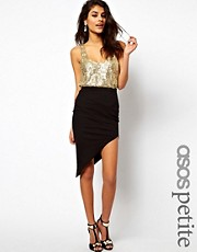 ASOS PETITE Skirt with Asymmetric hem