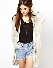 Just Female Draped Cardigan