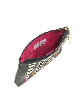 Image 2 ofLulu Guinness Legs Top Zip Pouch Bag
