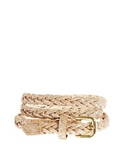 ASOS Skinny Plait Waist Belt