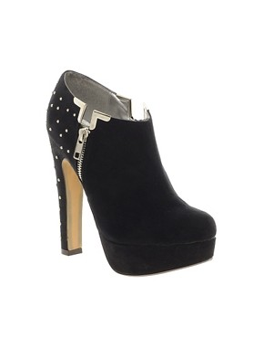Image 1 ofFaith Calibre Studded Shoe Boots