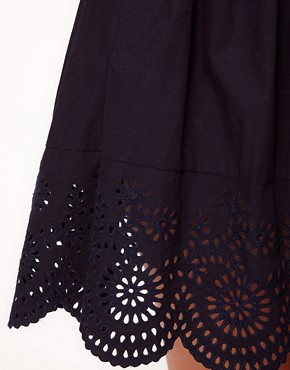 Image 3 ofNW3 Broderie Detail Skirt