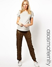ASOS Maternity Utility Pant with Large Pocket