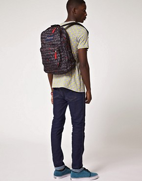 Image 3 ofJansport Superbreak Backpack with Bird Print