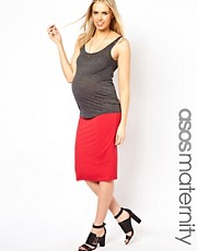 ASOS Maternity Jersey Pencil Skirt