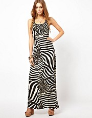 Denim & Supply By Ralph Lauren Zebra Maxi Dress